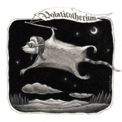 "​""Volaticotherium, the Nocturnal Glider"" 11cmx 11cm (4.3""x 4.3"") pencil on illustration board"