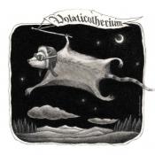 """Volaticotherium, the Nocturnal Glider"" 11cmx 11cm (4.3""x 4.3"") pencil on illustration board"