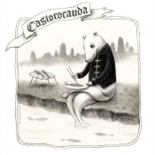 """Castorocauda, the Ancient Beaver"" 12.5cmx 11.5cm (5""x 4.6"") pencil on illustration board"